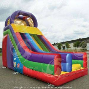 Image of 18' Wacky Slide Inflatable