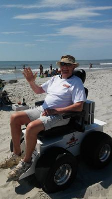 Powered Beach Wheelchair Rentals|Outer Banks NC Region