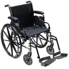 Standard Wheelchair With Legrest