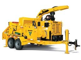 Wood Chipper towable model for rent