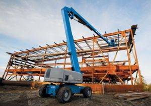 Newark Articulating Aerial Lift Rental in New Jersey