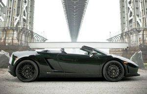 Massachusetts Exotic Car Rental -  Lamborghini LP560 Spyder