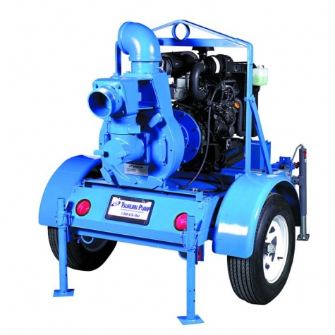 Tsurumi Pump Manufactured Sewage Pump with 6