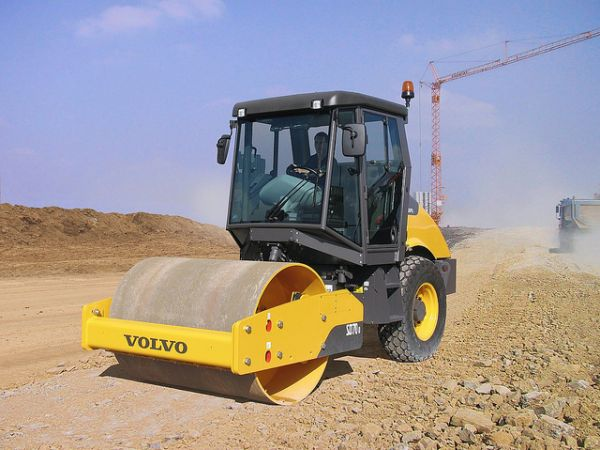 Volvo SD70D Single Drum Roller
