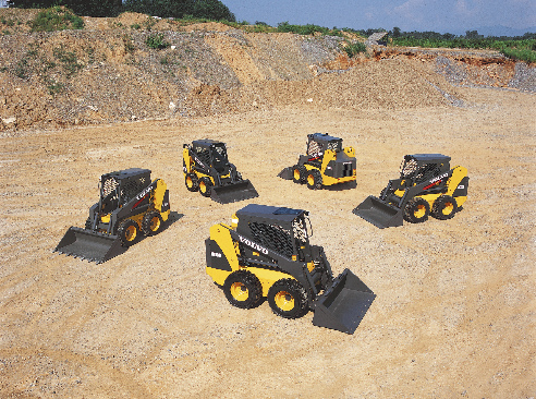 Volvo Manufactured Skid Steer Models