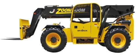 Asheville Rough Terrain Forklift Booms for Rent