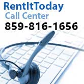 Call us for  Rentals