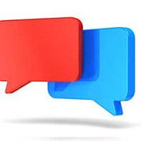 Blog Speech Bubbles