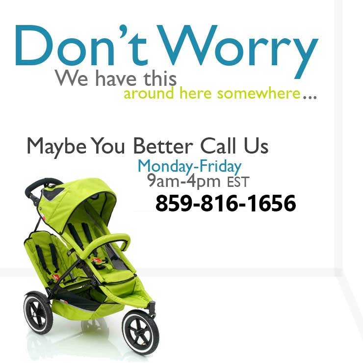 Call us for Baby Equipment Rentals