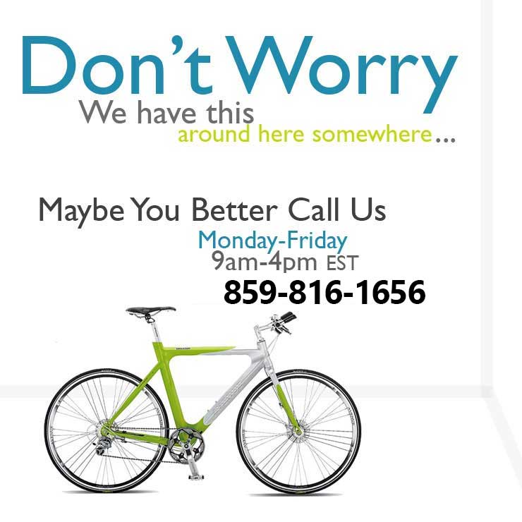 Call us for Bicycle Rentals