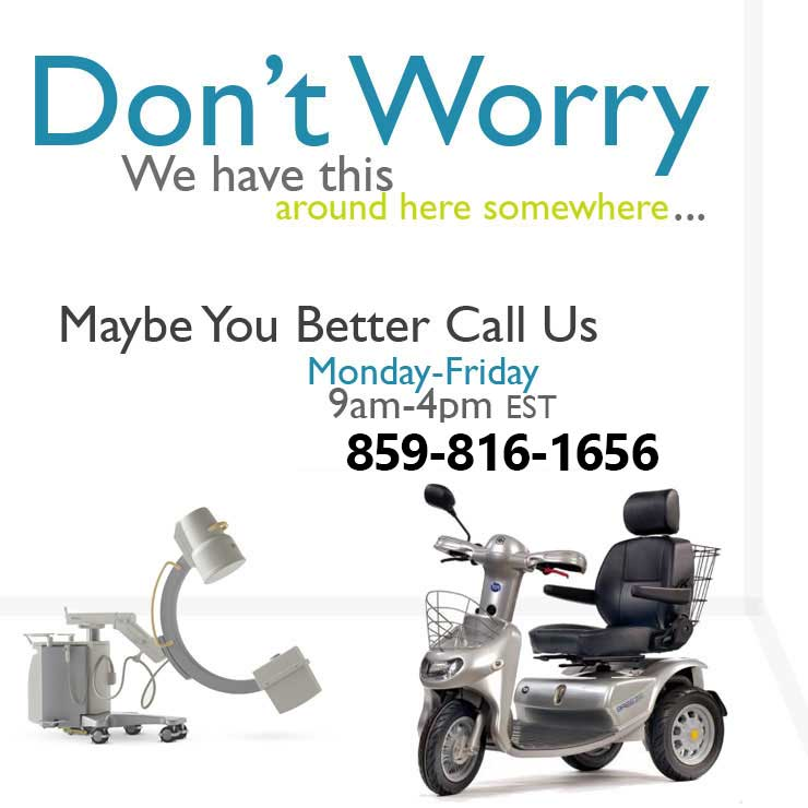 Call us for Healthcare Rentals