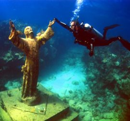 """Statue of Jesus"" Key Largo Scuba Diving Vacation"