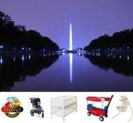 Travel Baby Gear Rentals Washington DC