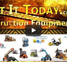 Construction Equipment Rentals Video