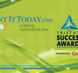 Rent It Today Wins Cincy Magazine's Tri-State Success Award