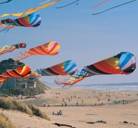 Plan a beach vacation to The Outer Banks for the Kite Festival at Kittyhawk, NC