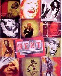 Rent Broadway Musical Poster
