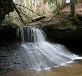 Creation Falls in Red River Gorge, KY