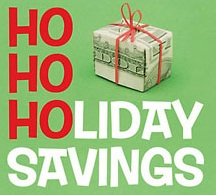 Holiday Savings Through Rent It Today