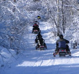 Snowmobile Tours and Rental