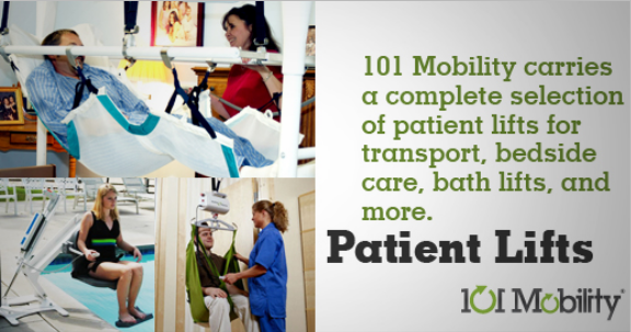 Patient Lift Rentals from 101 Mobility