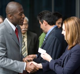 Trade show networking tips