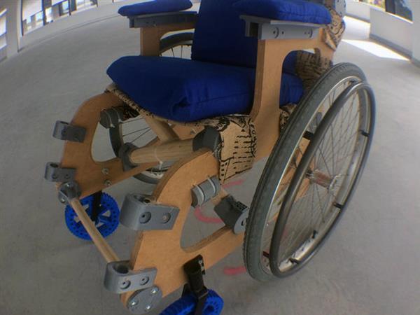 A 3D printed wheelchair