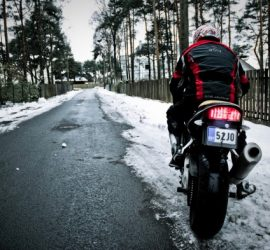 Tips for winter motorcycle riding