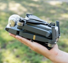 Drone that fits in your hand