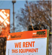 Where to find tool rentals